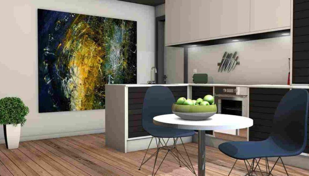 Die gut geplante Küche